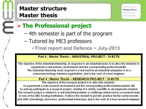 masters dissertation structure experiences of managing and teaching on an