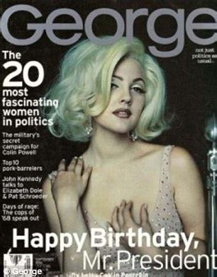 jfk jr asked madonna to dress up as jackie o for george