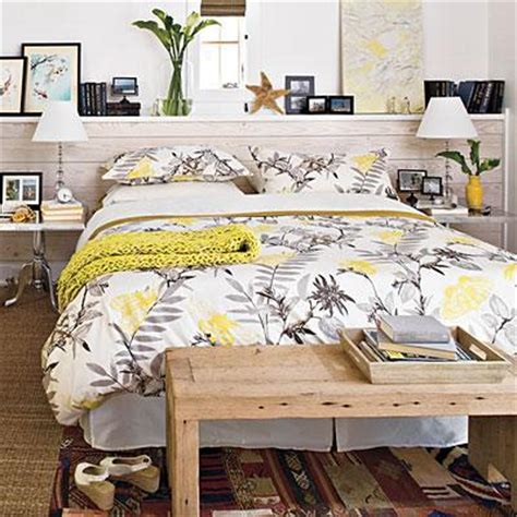Bedroom Decor Gray And Yellow Gray And Yellow Bedroom Cottage Bedroom Southern Living