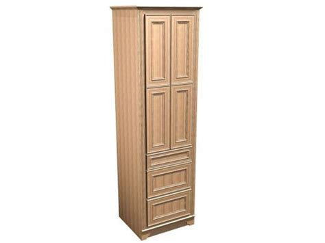 Briarwood Cabinets by Briarwood 24 Quot W X 18 Quot D X 84 Quot H Highland Linen Cabinet W