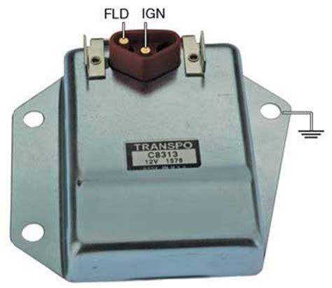 chrysler external voltage regulator wiring diagram autos