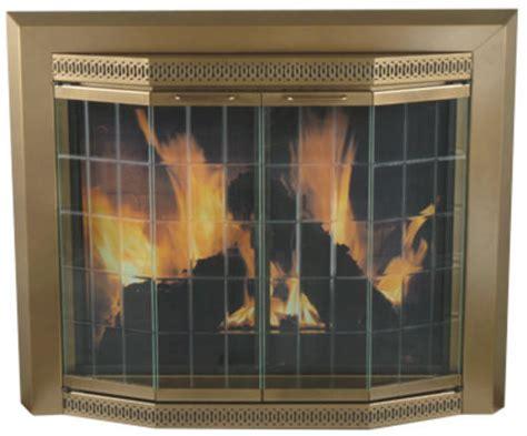 Fireplace Doors Menards by Grandior Bay Medium Bi Fold Bay Style Fireplace Door At