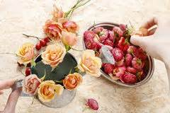 How To Make Floral Arrangements Step By Step by A Simple Floral Arrangement Royalty Free Stock Photography