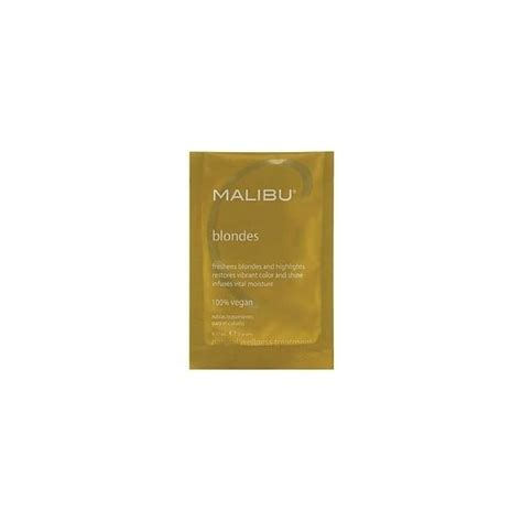 malibu treatment for hair malibu c blondes treatment 12ml