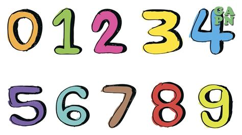 imagenes numeros naturales imagenes de numeros del 1 al 10 pictures to pin on