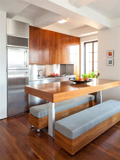 Portable Island For Kitchen by Unique Kitchen Table Ideas Amp Options Pictures From Hgtv