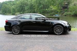 Lexus Is F Horsepower Lexus Is F Sports Car Black With S 400