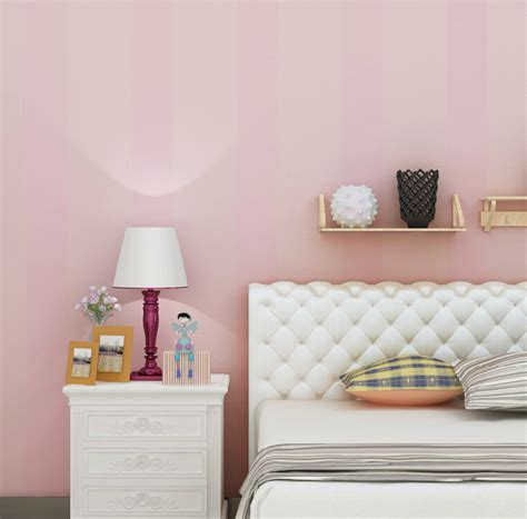 High Wallpaper For Bedroom Walls by High Quality Pink Striped Wallpaper Modern