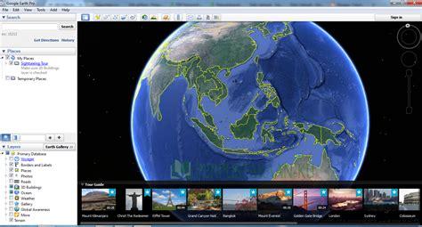 Software Melihat Dunia Earth Pro 7 earth pro 7 1 7 2600 terbaru teknologi komputer