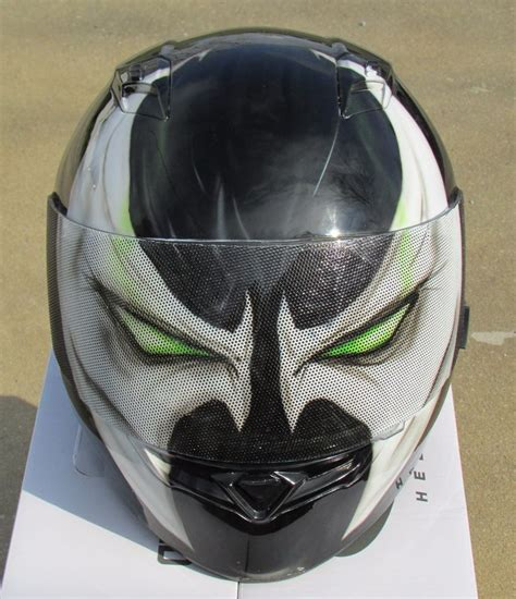 Handmade Motorcycle Helmets - spawn custom airbrushed painted motorcycle helmet ebay