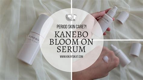 Serum Kanebo kanebo bloom on serum skin care product for your period