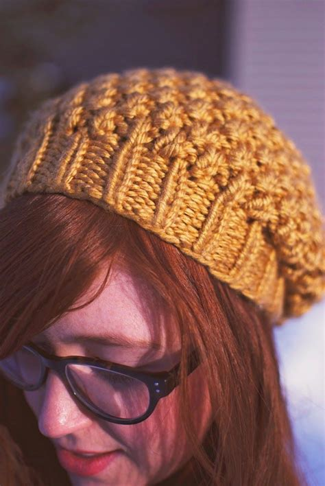 how to knit a tiny hat tiny painter knitting pattern yellow seed stitch beret