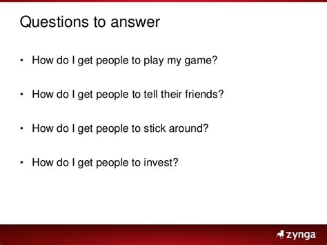 Or Question With Friends Social Gold The Design Of Farmville And Other Social Web2expo