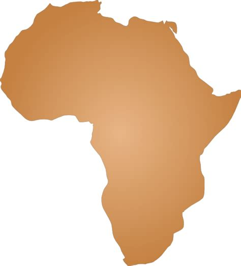 africa map vector png africa blank map clipart best
