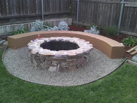 How To Make A Backyard Fire Pit Fire Pit Design Ideas How To Build Backyard Pit