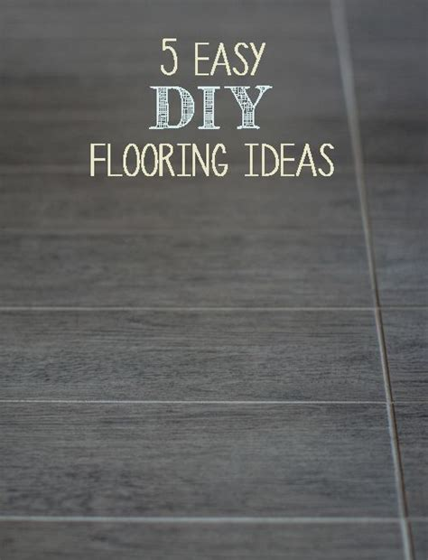hacking ideas decor hacks 5 easy diy flooring ideas decor object
