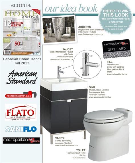 bathroom trends magazine win a bathroom makeover home trends magazine