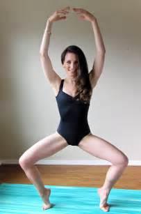 Balance Chair Intermediate Ballet Leg Routine Peaceful Dumpling