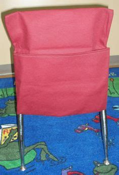 stools with backs for classroom how to make a chair pocket desk seat sack