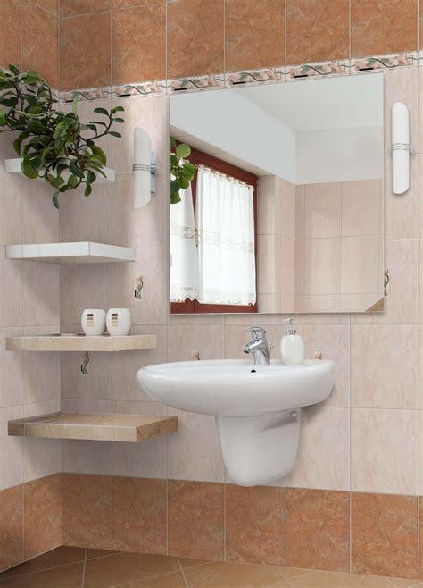 foto bagno rivestimento bagno naxos 25x33 cm rosa scuro 7 mm
