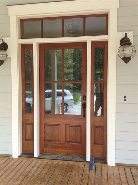 Exterior Door With Window 161 Best Images About Home Exteriors Ideas On Pinterest Home Alone Front Porches And Front Doors