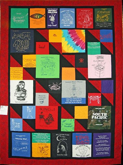 T Shirt Quilt Layout | another idea for t shirt quilt layout craft ideas
