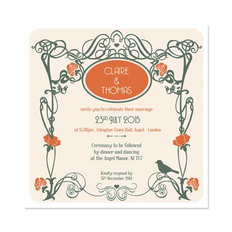 Wedding Invitations Deco by Deco Wedding Invitation Wedding Invitation Gallery