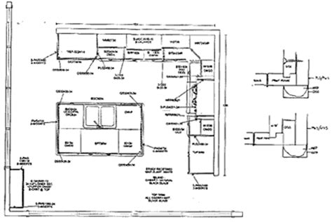 floor plan for kitchen kitchen design floor plan drafting cabinets design
