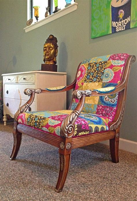 bohochic repurposed    kind chair  islandlifenow