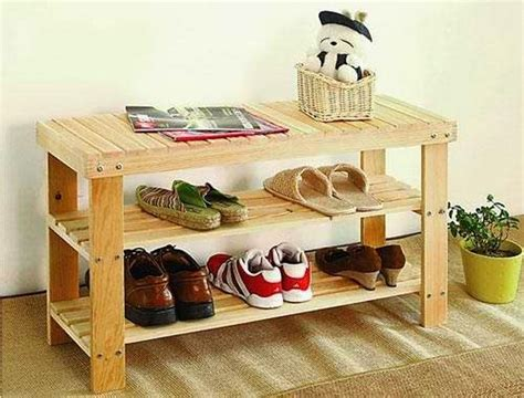 Wood Shoe Rack Ideas by Wooden Pallet Shoe Rack Ideas Pallet Wood Projects