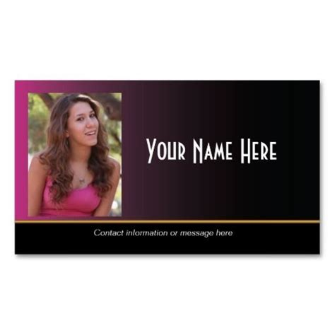 280 Best Images About Model Business Cards On Pinterest Black Business Card Models And Headshot Business Card Template