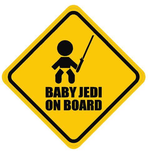 baby on board jedi dec bonb jedi 7 50 decal doctorz