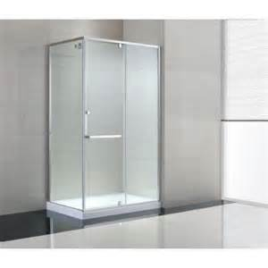 glass shower doors at home depot schon 48 in x 79 in semi framed corner shower