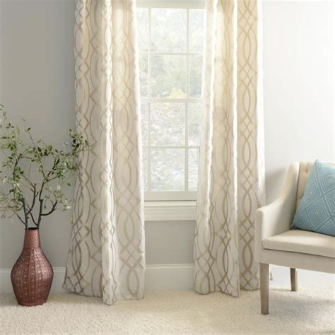 cream colored curtains 25 best ideas about living room curtains on pinterest