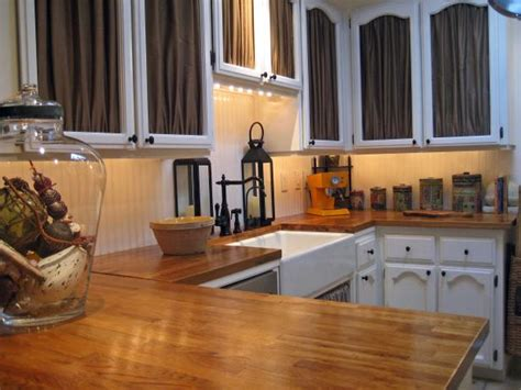 Wood Kitchen Countertops Hgtv Wood Kitchen Counter Tops