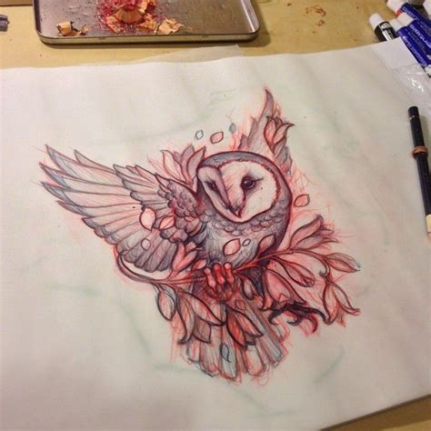 owl tattoo throat sneakymitch neck throat for tuesday webstagram owl