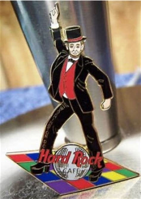 i missed the bobblehead in rock abraham lincoln pins from rock cafe