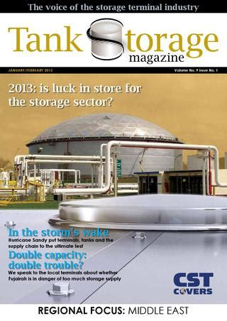 tank storage magazine january 2013 by woodcote media ltd