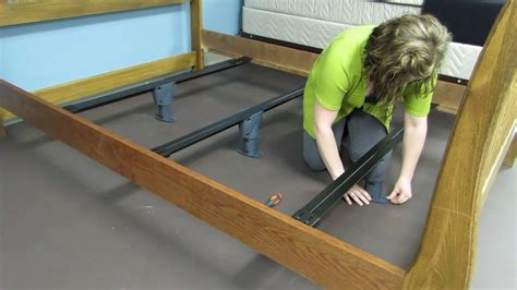 bed support beams bed beam support system deluxe youtube