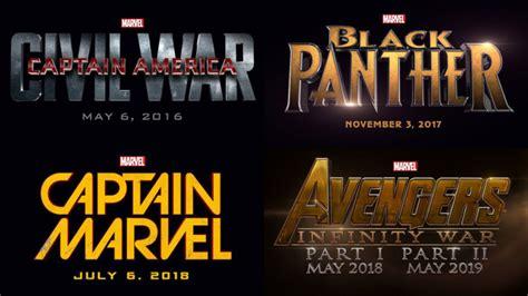 marvel reveals black panther captain marvel inhumans avengers avengers 3 captain america 3 marvel affiche son jeu
