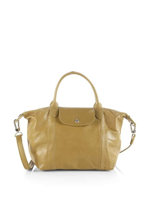 Longch Cuir Small 11 lyst longch le pliage cuir small top handle bag in