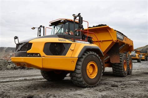 volvo truck production testing the pre production volvo a60h articulated dumper