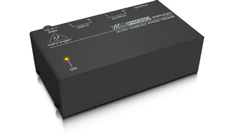 Behringer Phono Prelifiers Microphono Pp400 behringer microphono pp400 prelificador de phono