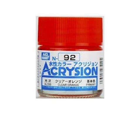 Mr Acrysion 4 mr hobby gsi n92 acrysion acrylic water based color