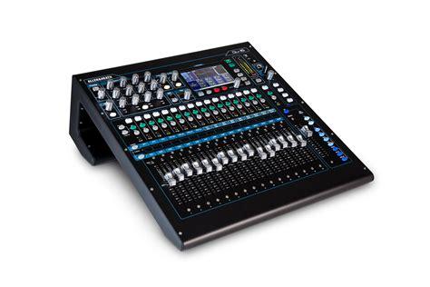 Mixer Digital Allen Heath Qu 16 turramurra mixers p a allen heath qu 16 chrome