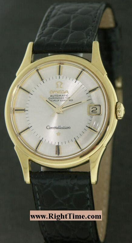 omega constellation 750 gold 211 10932 pre owned mens