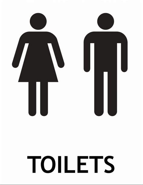 bathroom signs printable free printable toilet sign