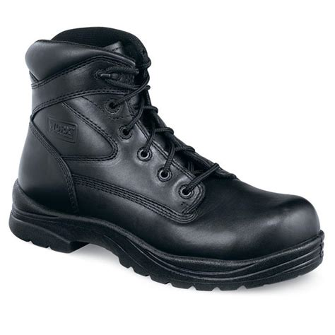 black steel toe boots for s worx 174 by wing 174 shoes 5535 6 quot steel toe eh boots