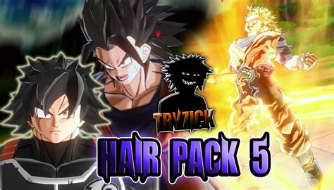 hairstyles xenoverse mod tryzick s hair pack 5 xenoverse mods