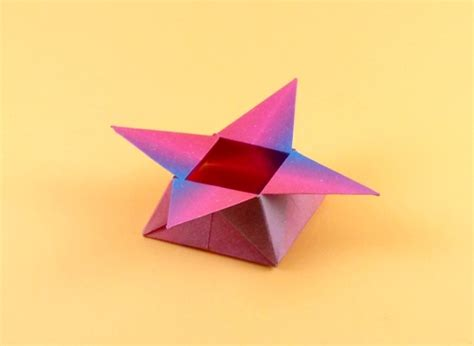 Origami Petal Box - origami petal box 28 images embalagens criativas petal